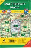 Turistická mapa 129 Malé Karpaty - Bradlo 1 : 50 000