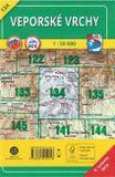 Turistická mapa 134 Veporské vrchy 1 : 50 000