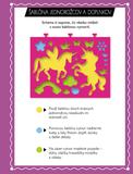 Zoškrabovacie obrázky – Jednorožce a morské panny