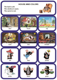 Obrázková ANGLIČTINA S KRTKOM (modrá – kartičky)