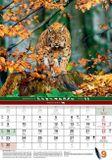 Poľovnícky nástenný kalendár 2019