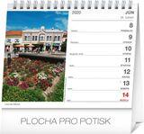 Mini-Stolový kalendár Rozprávkové Slovensko SK 2020, 16,5 x 13 cm