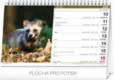 Stolový poľovnícky kalendár SK 2019, 23,1 x 14,5 cm