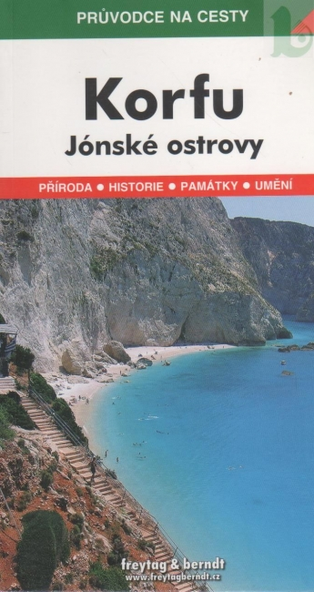 Korfu Jonske Ostrovy Pruvodce Na Cesty Knihkupectvo