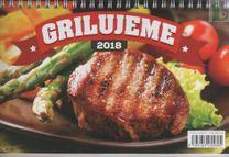 Grilujeme - stolový kalendár