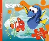 Hľadá sa Dory - Kniha s puzzle