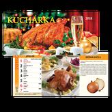 Kuchárka - stolový kalendár