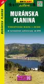 Muránska planina turistická mapa 1: 50 000