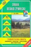 Orava - Beskid Žiwiecki 102 turistická mapa 1: 50 000