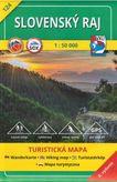 Slovenská Raj TM 124 turistická mapa 1:50 000
