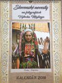 Slovenské nevesty vo fotografiách - nástenný kalendár 2018