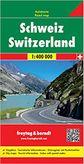 Švajčiarsko / Schweiz/Switzerland automapa 1 : 400 000