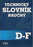 Technický slovník naučný D-F 2. svazek