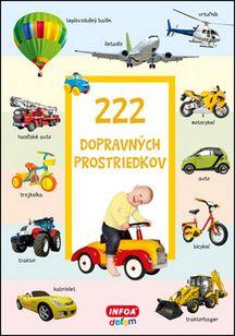 222 dopravných prostriedkov