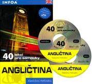 Angličtina - 40 lekcí pro samouky - kniha + 2 CD