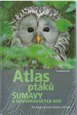 Atlas ptáků Šumavy + CD