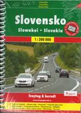 Autoatlas Slovensko 1 : 200 000