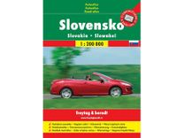 Autoatlas Slovensko 1:200 000