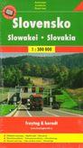 Automapa Slovensko 1 : 300 000