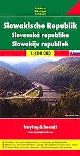 Automapa Slovensko 1 : 400 000