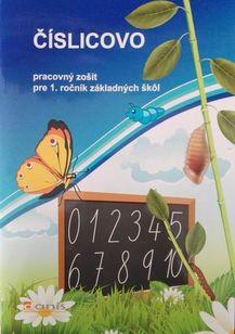 Číslicovo - Pracovný zošit pre 1. ročník základných škôl