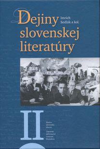 Dejiny slovenskej literatúry II