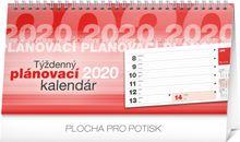 Stolový kalendár Plánovací riadkový SK 2020, 25 x 12,5 cm