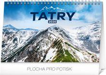 Stolový kalendár Tatry SK 2020, 23,1 x 14,5 cm