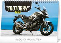 Stolový kalendár Motorky SK 2020, 23,1 x 14,5 cm