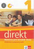 Direkt 1 Nemčina pre stredné školy - Učebnica a pracovný zošit +CD