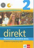 Direkt 2 Nemčina pre stredné školy - Učebnica a pracovný zošit + CD