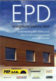 EPD energetický pasívny dom DVD - ROM