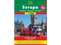 Evropa 1:1 500 000 Autoatlas