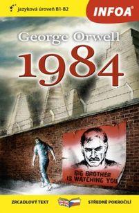 George Orwell 1984 - zrcadlová četba B1-B2