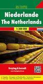 Holandsko/ Nederland/ Niederlande automapa 1 : 300 000