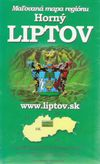 Horný Liptov - maľovaná mapa