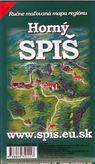 Horný Spiš - ručne maľovaná mapa