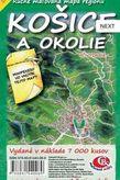 Košice a okolie ručne maľovaná mapa