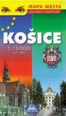 Košice mapa mesta 1:15 000