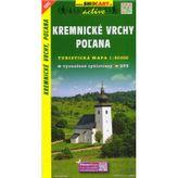 Kremnické vrchy, Poľana 1:50 000 Turistická mapa