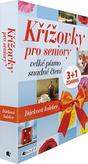 Křížovky pro seniory – Dárková kolekce (box)