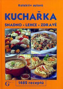 Kuchařka snadno,lehce,zdravě 1482 receptů