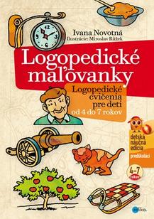 Logopedické maľovanky - Logopedické cvičenia pre deti od 4 do 7 rokov