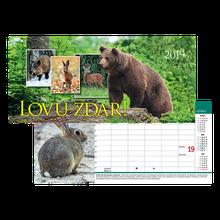 Lovu zdar - stolový kalendár 2019