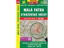 Malá Fatra, Strážovské vrchy 1:40.000 turistická mapa