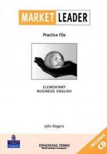 Market Leader Elem Practice File Book +CD