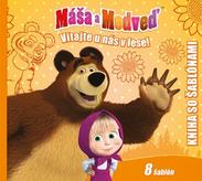 Máša a medveď - Kniha šablón