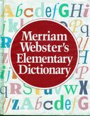 Merriam Webster´s Elementary Dictionary