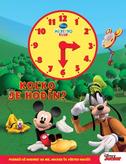Mickeyho klub - Koľko je hodín? (kniha s hodinami)
