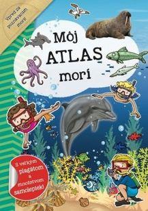 Môj atlas morí + plagát a samolepky